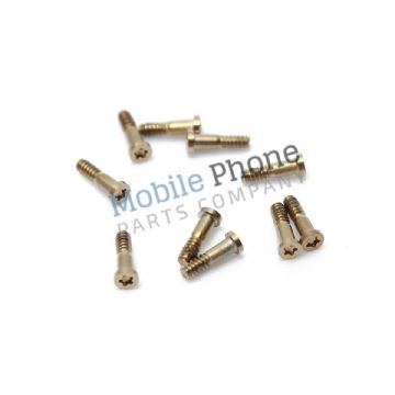 Apple iPhone 6 Plus Bottom Screws Gold - 10 pc